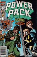 Power Pack (1984-1991) #21 Variant A: Newsstand Edition