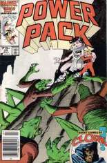 Power Pack (1984-1991) #24 Variant A: Newsstand Edition
