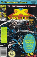 X-Factor (1986-1998) #85 Variant B: Newsstand Edition; Polybagged w/ Card