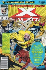 X-Factor (1986-1998) #84 Variant B: Newsstand Edition; Polybagged w/ Card