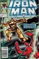 Iron Man (1968-1996) #218 Variant A: Newsstand Edition