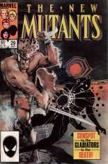 New Mutants (1983-1991) #29 Variant B: Direct Edition