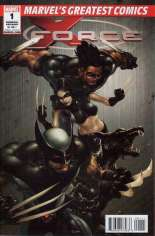 X-Force (2008-2010) #1 Variant F: Marvel's Greatest Comics Reprint