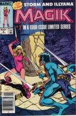 Magik (1983-1984) #2 Variant A: Newsstand Edition