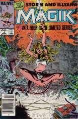 Magik (1983-1984) #4 Variant A: Newsstand Edition