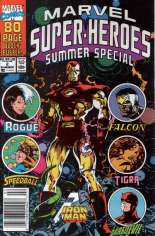 Marvel Super-Heroes (1990-1993) #2 Variant A: Newsstand Edition; Summer Special