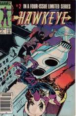 Hawkeye (1983) #2 Variant A: Newsstand Edition