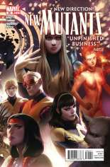 New Mutants (2009-2012) #25 Variant A