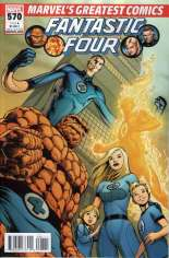 Fantastic Four (1998-2011) #570 Variant F: Marvel's Greatest Comics Reprint