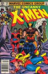 Uncanny X-Men (1963-2011) #155 Variant A: Newsstand Edition