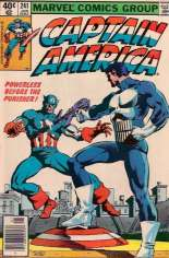 Captain America (1968-1996) #241 Variant A: Newsstand Edition; NM Copies are scarce due to Printer's Crease Error
