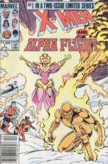 X-Men and Alpha Flight (1985-1986) #1 Variant A: Newsstand Edition