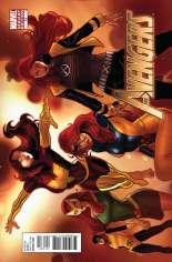 Avengers (2010-2012) #13 Variant B: X-Men Evolutions Cover