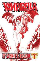 Vampirella and the Scarlet Legion #1 Variant D: Blood Red Cover