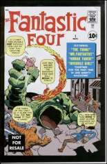 Fantastic Four (1961-1996) #1 Variant E: Marvel Legends Series XI Reprint Packaged w/ Thing
