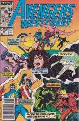 Avengers West Coast (1989-1994) #49 Variant A: Newsstand Edition