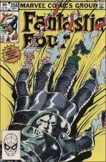 Fantastic Four (1961-1996) #258 Variant B: Direct Edition; The Fantastic Four do not appear in this issue