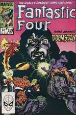Fantastic Four (1961-1996) #259 Variant B: Direct Edition