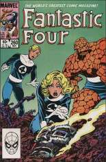 Fantastic Four (1961-1996) #260 Variant B: Direct Edition