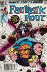 Fantastic Four (1961-1996) #253 Variant A: Newsstand Edition