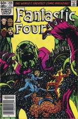 Fantastic Four (1961-1996) #256 Variant A: Newsstand Edition