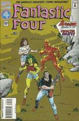 Fantastic Four (1961-1996) #394 Variant C: Direct Edition; Pink Logo; Not Polybagged