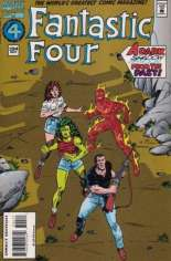 Fantastic Four (1961-1996) #394 Variant B: Direct Edition; White Logo