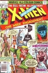 Uncanny X-Men (1963-2011) #111 Variant B: UK Edition