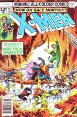Uncanny X-Men (1963-2011) #113 Variant B: UK Edition