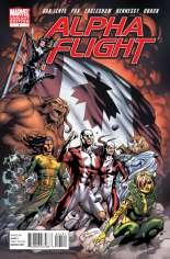 Alpha Flight (2011-2012) #1 Variant B: 1:15 Variant