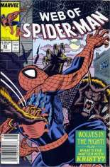 Web of Spider-Man (1985-1995) #53 Variant A: Newsstand Edition