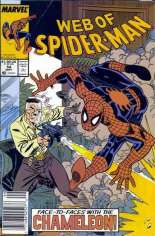 Web of Spider-Man (1985-1995) #54 Variant A: Newsstand Edition