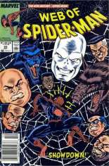 Web of Spider-Man (1985-1995) #55 Variant A: Newsstand Edition