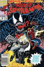 Web of Spider-Man (1985-1995) #95 Variant A: Newsstand Edition