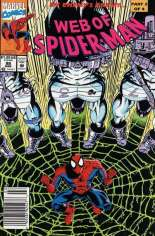 Web of Spider-Man (1985-1995) #98 Variant A: Newsstand Edition