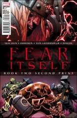 Fear Itself (2011-2012) #2 Variant D: 2nd Printing