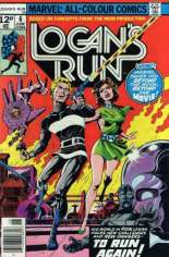 Logan's Run (1977) #6 Variant D: UK Edition; Back-Up Story Features Thanos & Drax