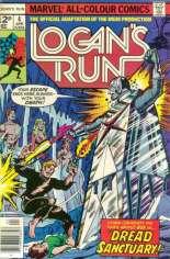 Logan's Run (1977) #4 Variant B: UK Edition