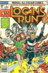 Logan's Run (1977) #1 Variant B: UK Edition
