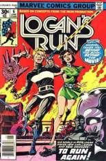 Logan's Run (1977) #6 Variant C:  Mark Jeweler Advertisement Insert Variant; Back-Up Story Features Thanos & Drax