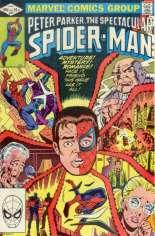 Spectacular Spider-Man (1976-1998) #67 Variant B: Direct Edition