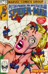 Spectacular Spider-Man (1976-1998) #74 Variant B: Direct Edition