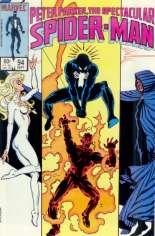 Spectacular Spider-Man (1976-1998) #94 Variant B: Direct Edition