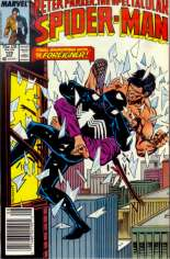 Spectacular Spider-Man (1976-1998) #129 Variant A: Newsstand Edition