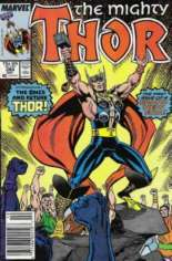 Thor (1966-1996) #384 Variant A: Newsstand Edition
