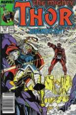 Thor (1966-1996) #387 Variant A: Newsstand Edition