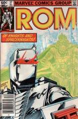 Rom (1979-1986) #37 Variant A: Newsstand Edition
