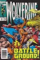 Wolverine (1988-2003) #68 Variant A: Newsstand Edition