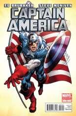 Captain America (2011-2012) #1 Variant F: 1:100 Variant