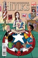 Incredible Hulks (2010-2011) #632 Variant B: I Am Captain America Cover